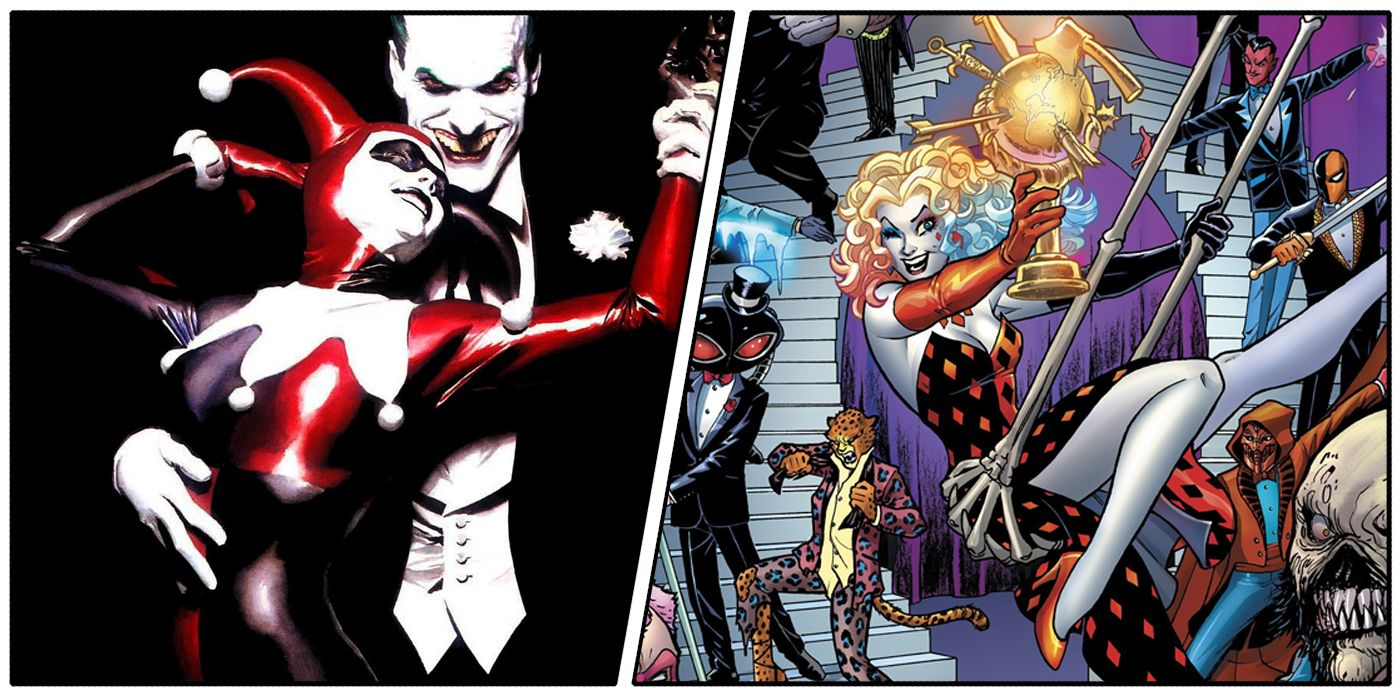 Harley Quinn 10 Major Ways She Changed Over The Years Cbr