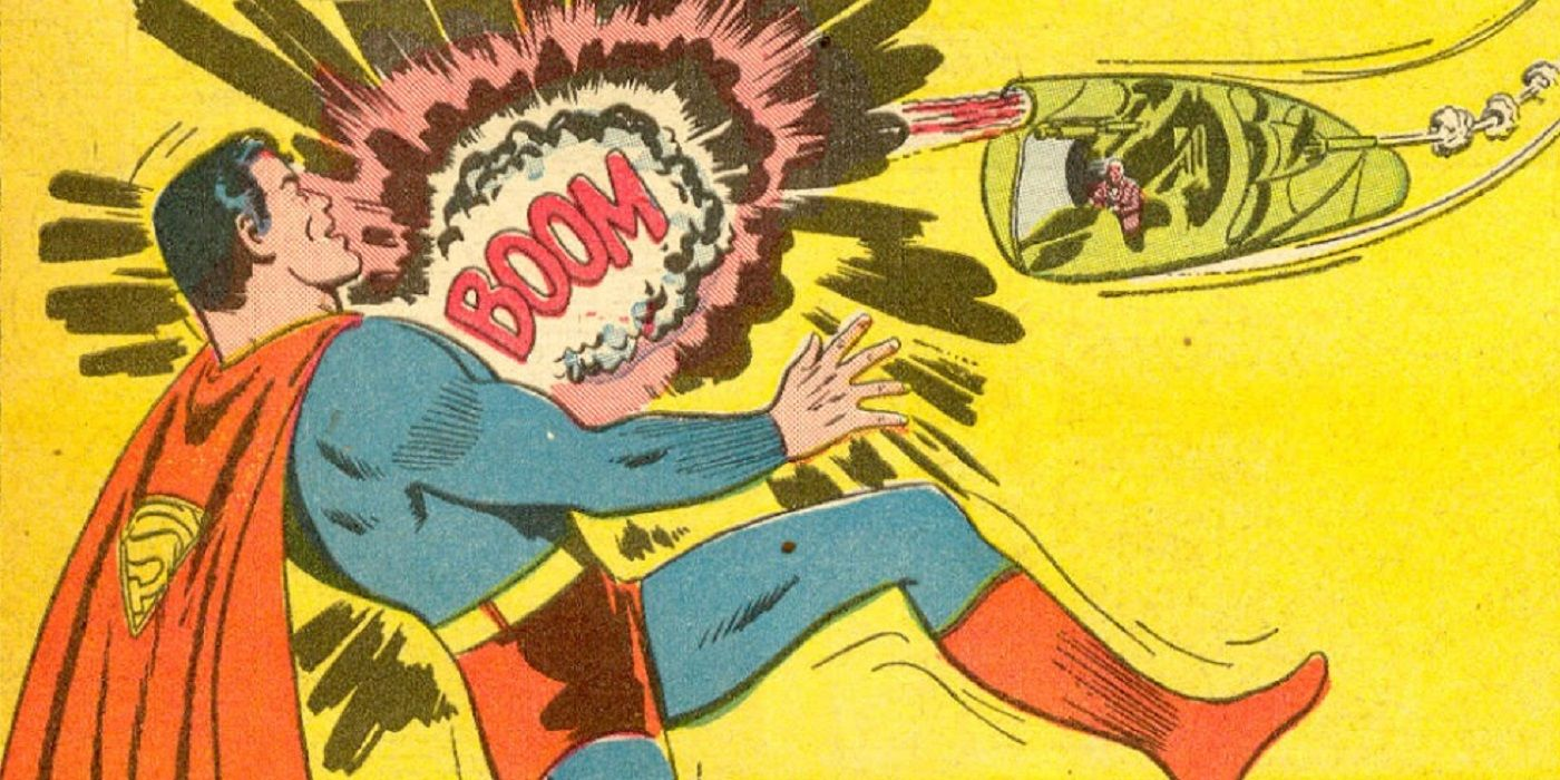 The Superman vs. Luthor Fight That Was Censored From the Public During World War II