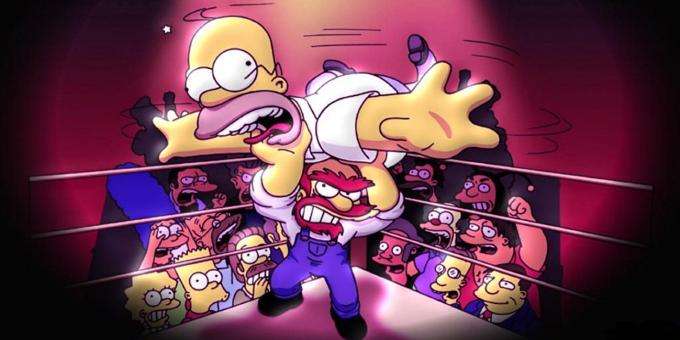 The Simpsons Wrestling Is the WORST Modern Wrestling Game