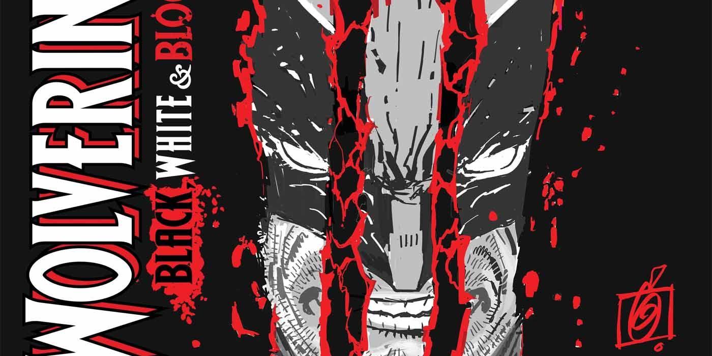 Wolverine Black White Blood #1 11//25//2020 Garney Variant Corrected Of 4
