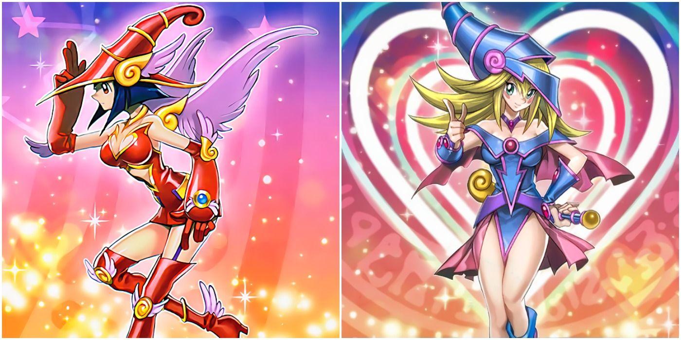 Yu-Gi-Oh!: Ranking Every Magician Girl Card Art  CBR