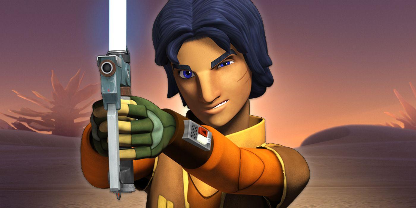 Star Wars: Ezra's Blaster Saber Isn't a Weapon for a Jedi | CBR