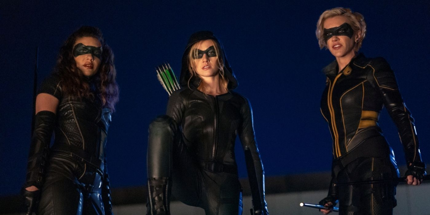 Green Arrow and the Canaries' Death Is the Official End of the Arrowverse