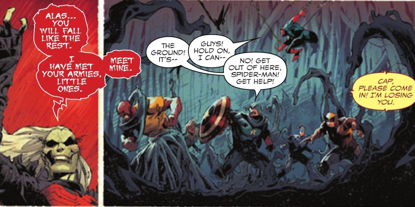 King In Black: Apenas UM herói da Marvel poderia escapar do Nemesis de Venom 1
