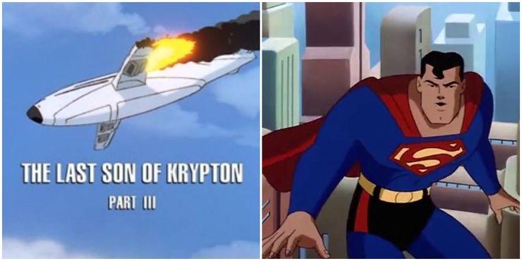 Superman The Animated Series Superman goes to stop the plane from falling - Cuando la bondad y amabilidad de Superman se interpusieron en el camino