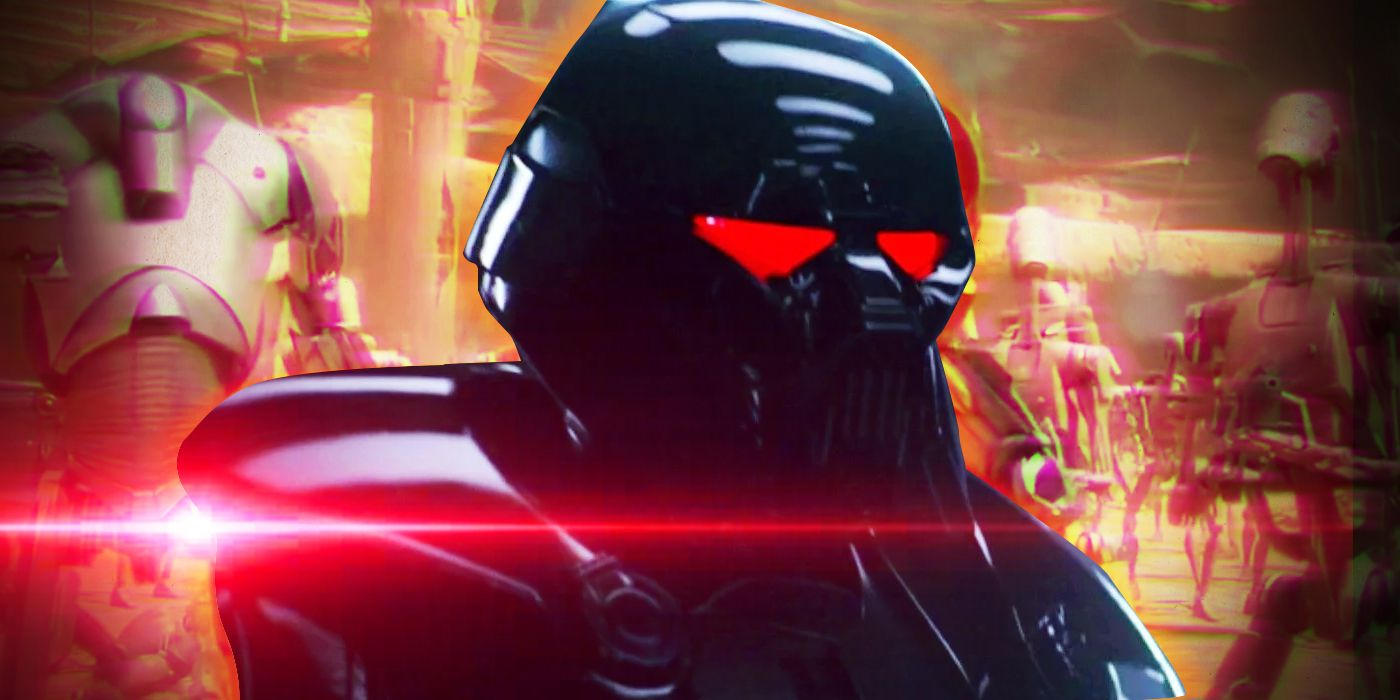 The Mandalorian: Dark Troopers Are the New Super Battle Droids