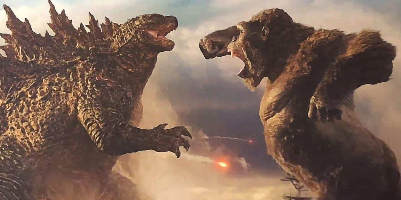 Godzilla vs. Kong Footage Shows Off the Clash of the Titans | CBR