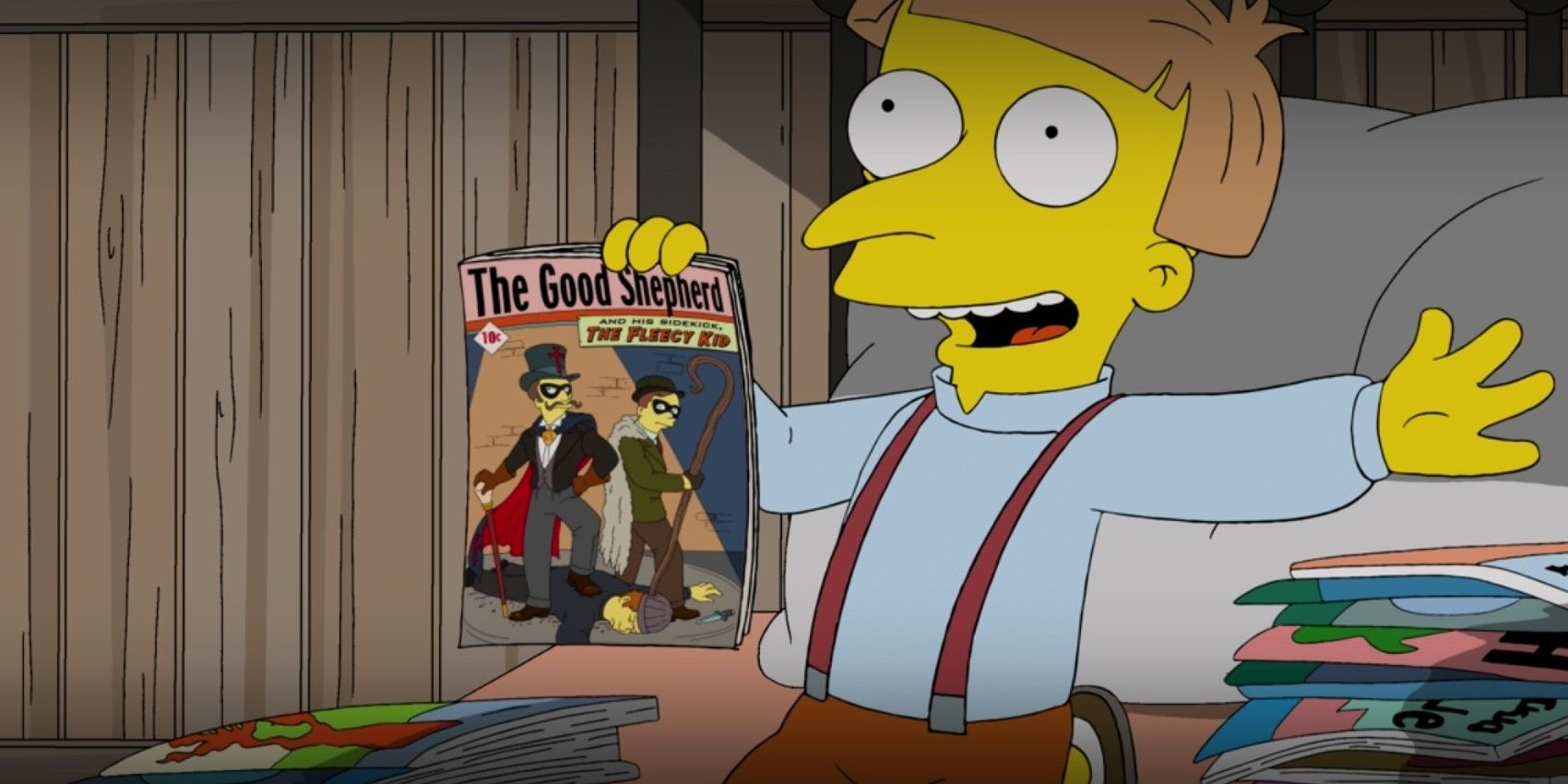 The Simpsons: Before Radioactive Man, There Was... The Good Shepherd