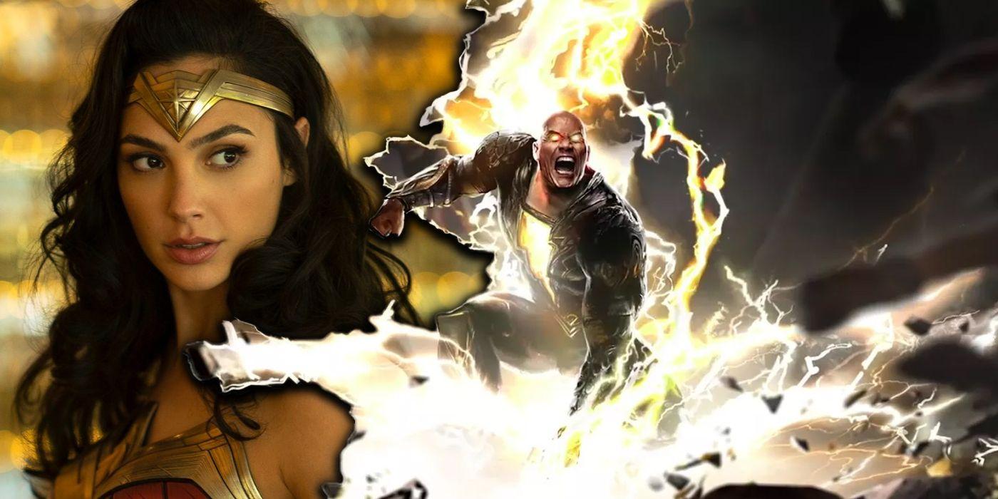 Gal Gadot Addresses Potential Wonder Woman/Black Adam Clash