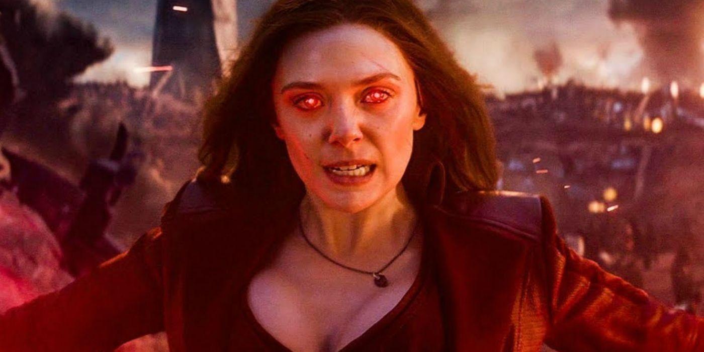 Marvel's Strongest Avenger Was Confirmed When Wanda Destroyed Thanos' Sword