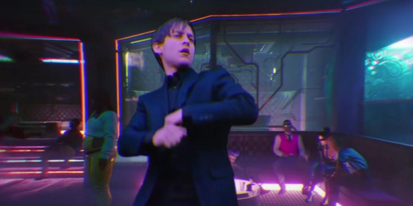 Watch Spider-Man 3's Tobey Dance in Cyberpunk 2077