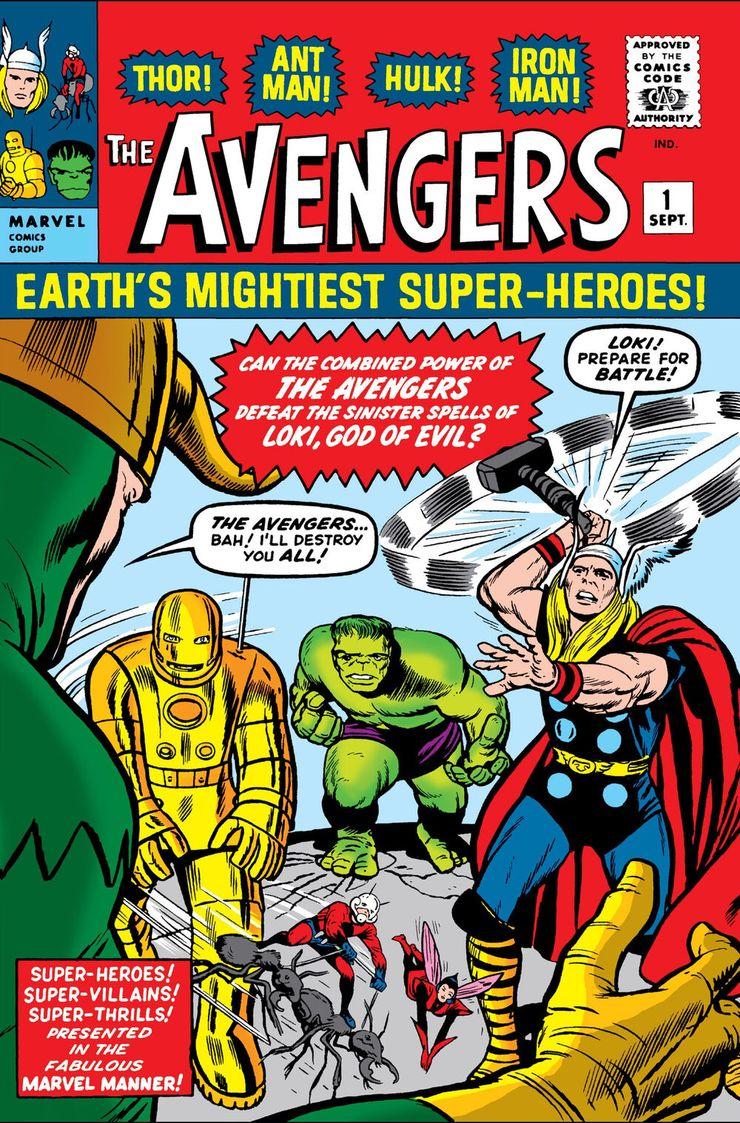 05/10 The Avengers: Earth's Mightiest Super-Heroes!