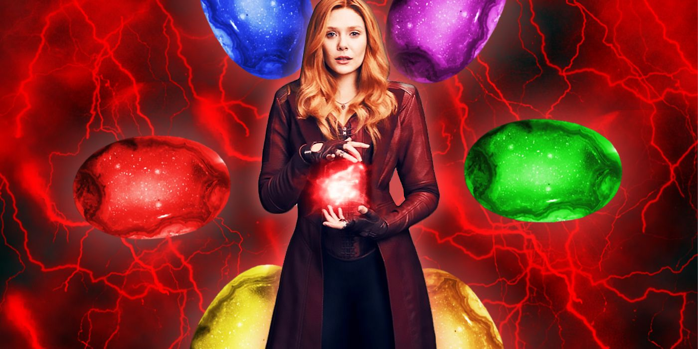 WandaVision Theory: The Reality Infinity Stone is Powering the Scarlet Witch