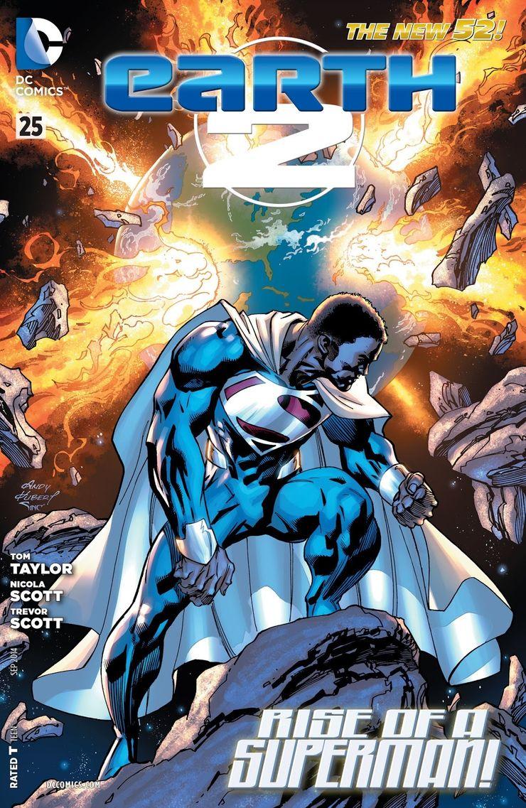 earth 2 25 0 - ¿Quién fue el primer Superman negro?