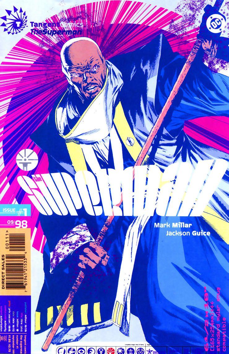 tangent comics superman 1 - ¿Quién fue el primer Superman negro?