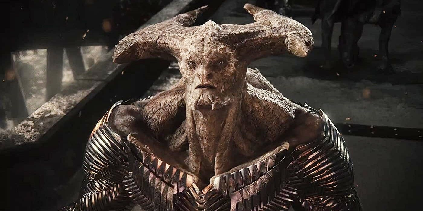 Justice League Concept Artist Shares More Sinister Steppenwolf Design