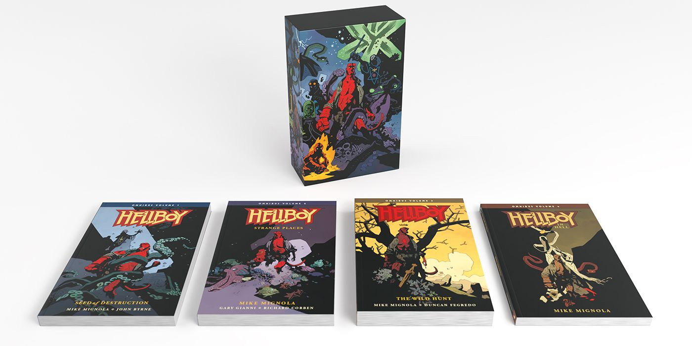 Dark Horse Announces Hellboy Omnibus Collection, His Life and Times Art Edition