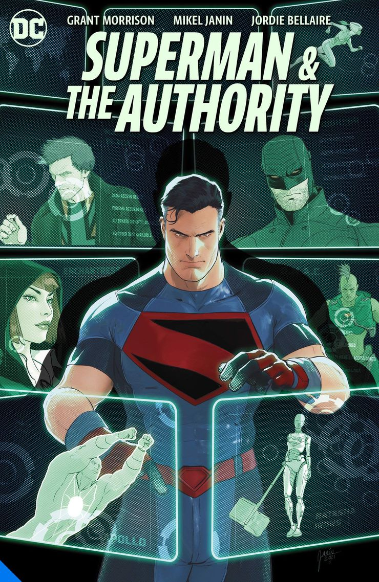 Superman & The Authority DC Comics Grant Morrison Mikel Janin