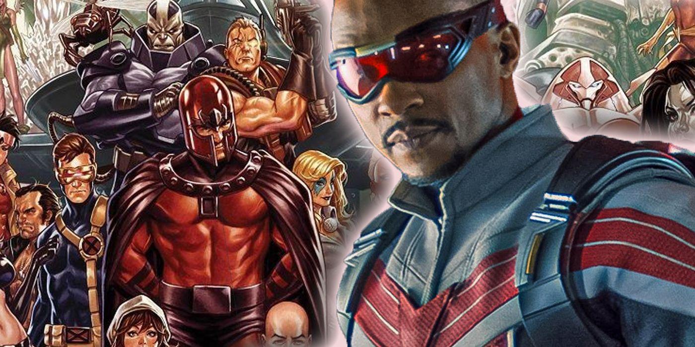 Falcon and Winter Soldier: The MCU's New Captain America Was Almost a Mutant in Comics
