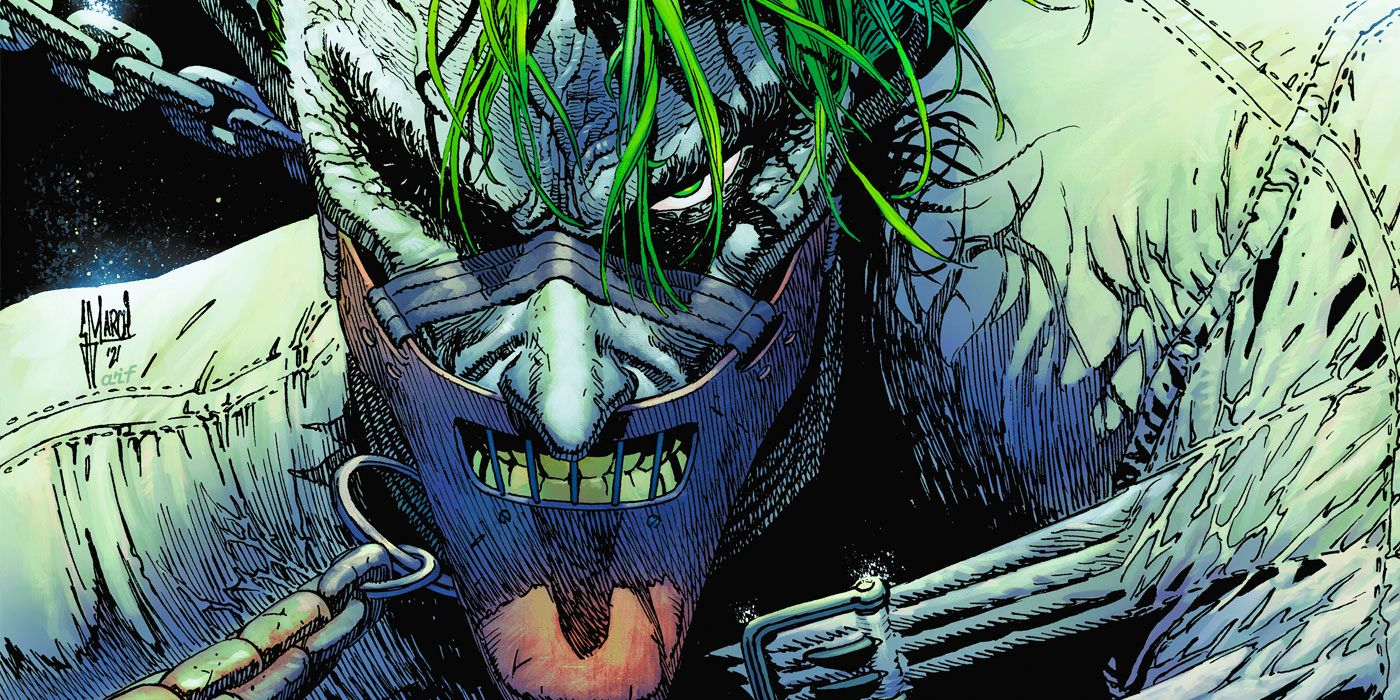 DC Is About to Tell the Story of Joker's First Night in Arkham Asylum