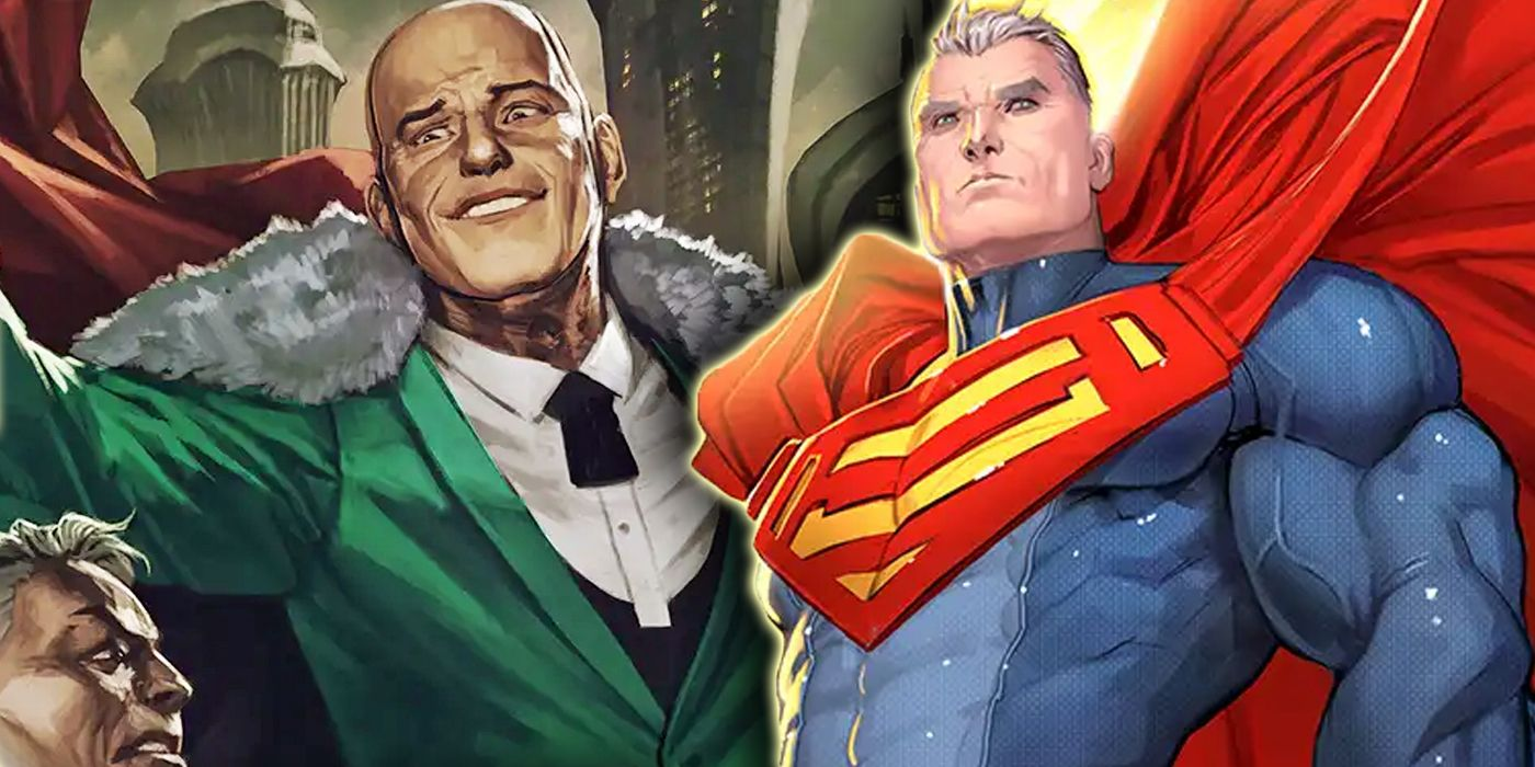 Superman Finally Defeated Lex Luthor by Killing His Pride   CBR