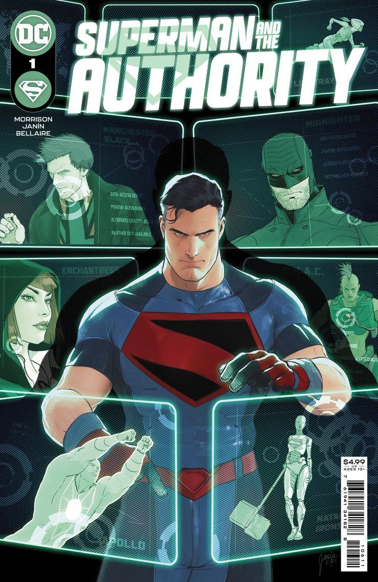 SMATA Cv1 Main Not Final.jpg?q=50&fit=crop&w=740&h=1138&dpr=1 - Superman establecerá un Authority muy diferente en el DC Universe