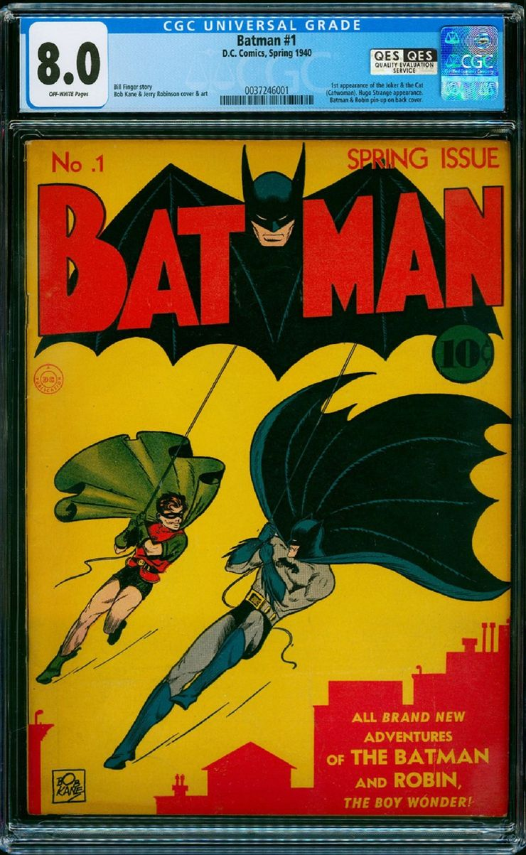 1939's Batman #1 Sells for a Record-Breaking $1.2 Million   CBR