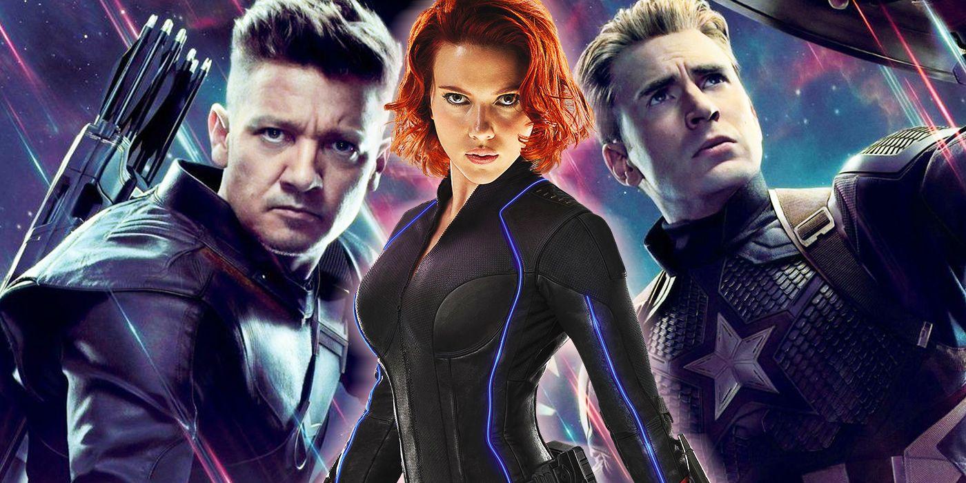 Captain America Was Black Widow's Best Friend, Not Hawkeye | CBR