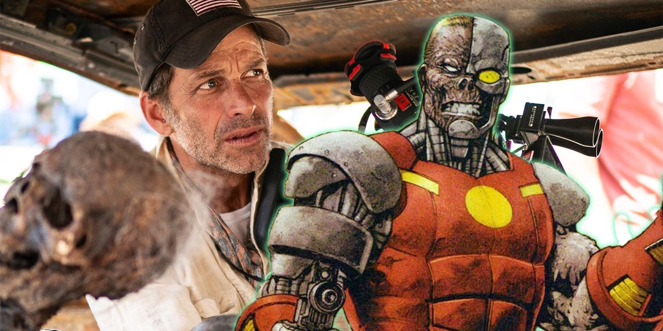 Zack Snyder's Army of the Dead Involves Robot Zombies   CBR