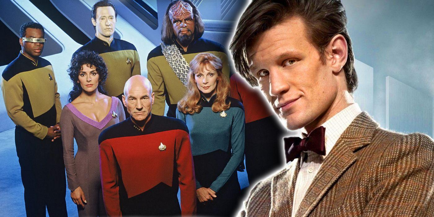 Doctor Who & Star Trek: TNG Teamed Up to Stop the Borg/Cybermen Alliance