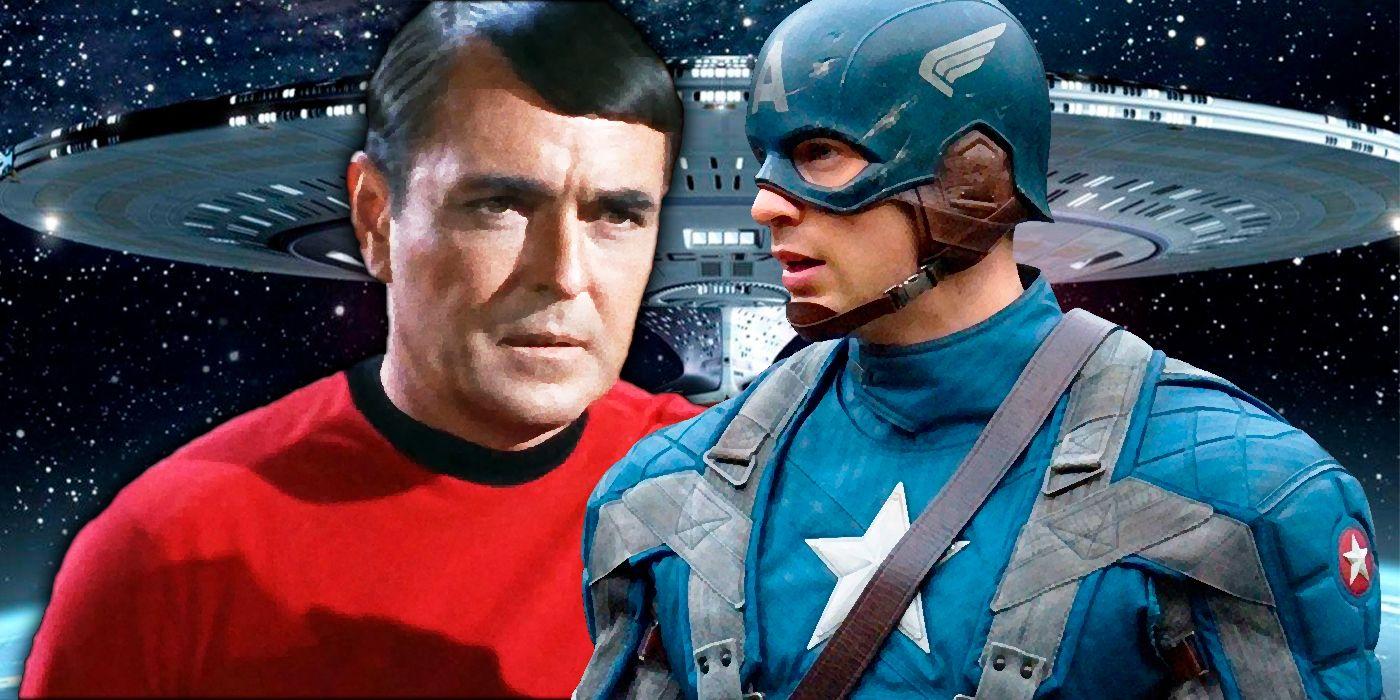 Star Trek: The Next Generation Turned Scotty into Steve Rogers