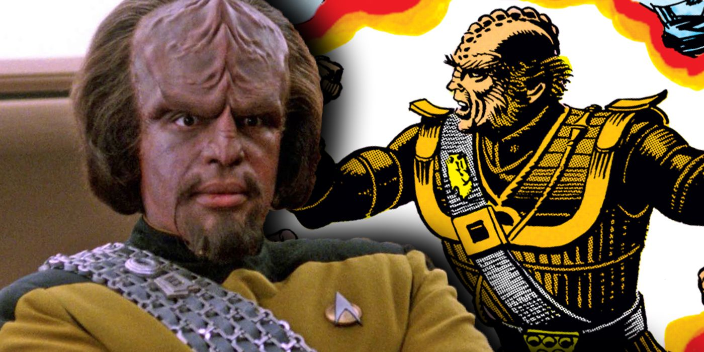 Star Trek: Worf Was NOT Starfleet's First Klingon Officer | CBR