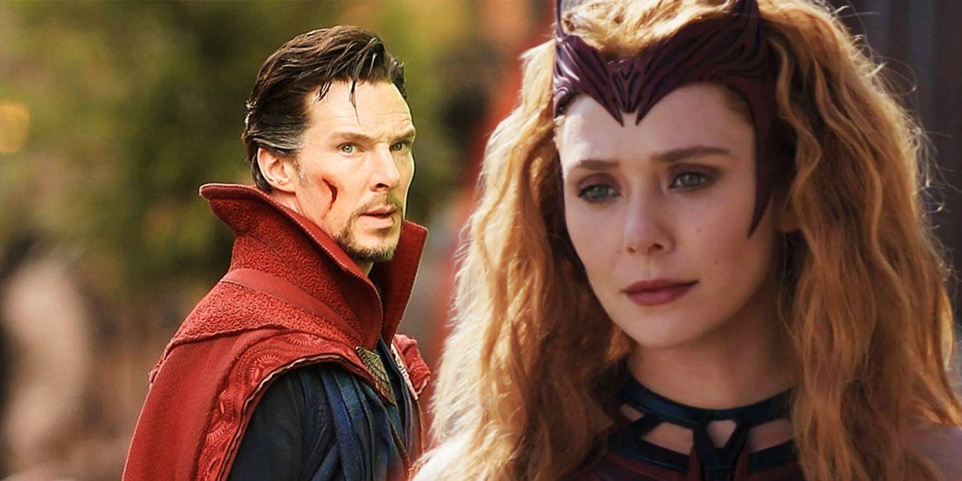 Elizabeth Olsen Wasn't Told Doctor Strange 2 Plans at Start of WandaVision