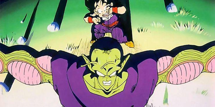 Piccolo protege a Gohan en Dragon Ball Z
