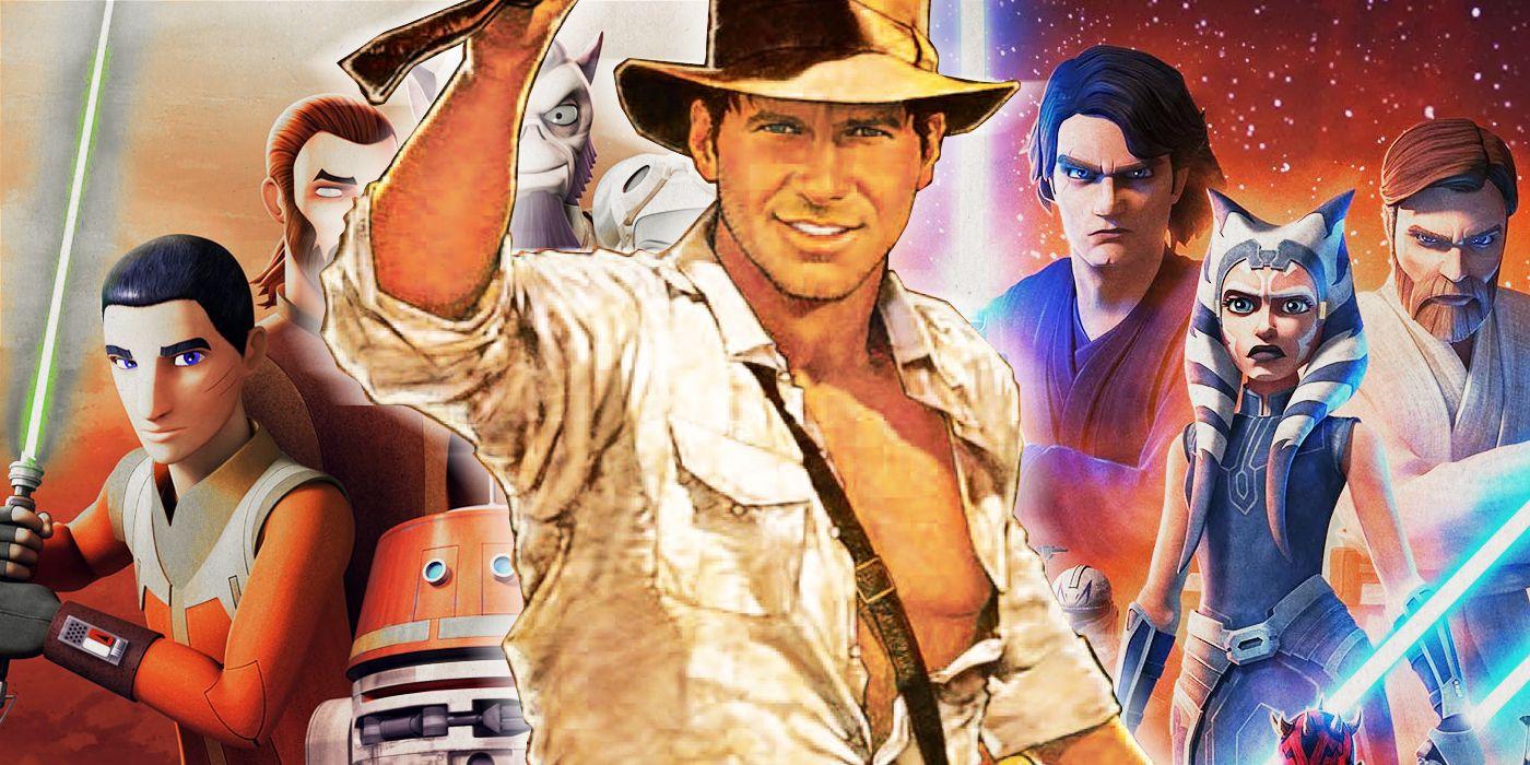 Raiders of the Lost Ark Easter Eggs Hide in Star Wars Rebels & Clone Wars