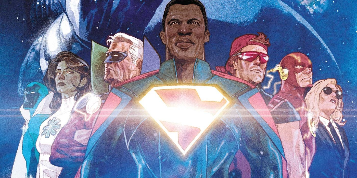 Infinite Frontier #1 Brings Wonder Back to the DC Universe   CBR