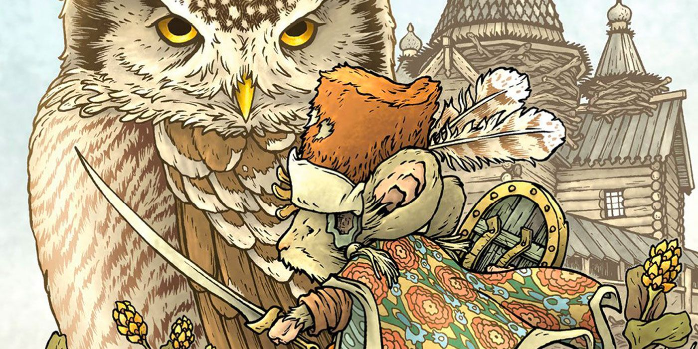 Mouse Guard Returns in David Petersen's The Owlhen Caregiver Exclusive First Look