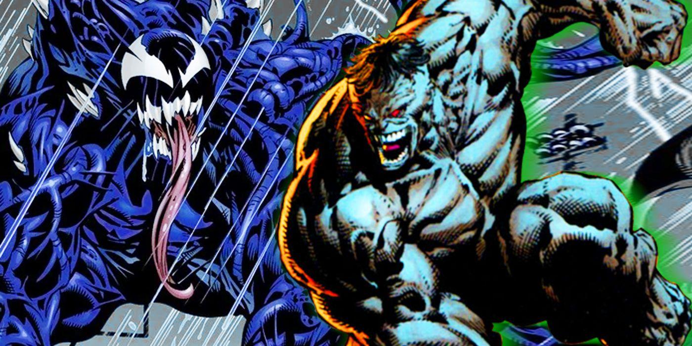 Venom vs. Hulk: Who Was Ultimate Marvel's Biggest Monster?   CBR