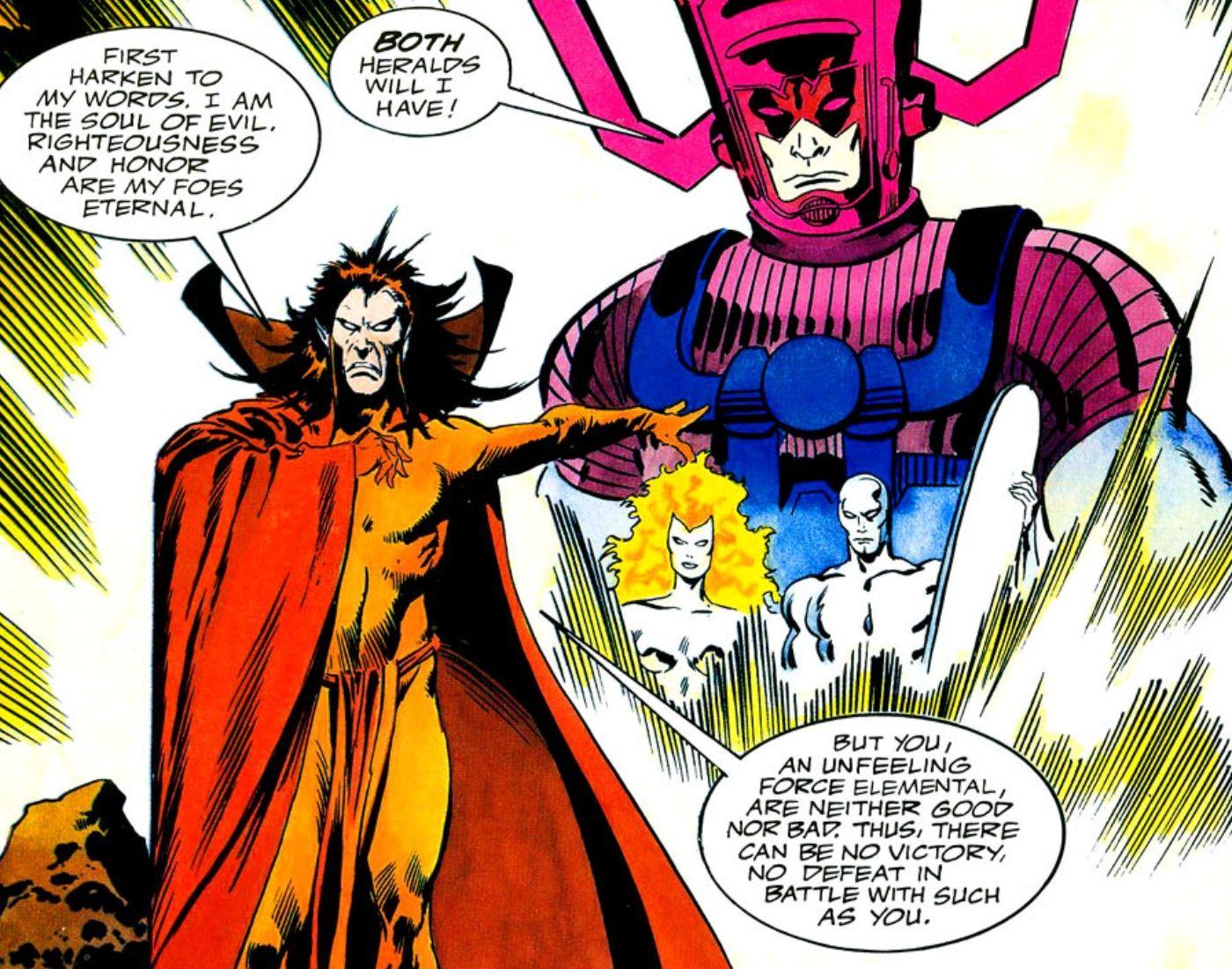 Mephisto vs. Galactus: Qual entidade da Marvel venceu sua maior luta? 3