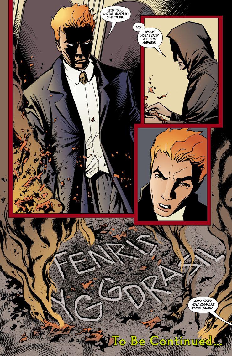 Lucifer morningstar comic