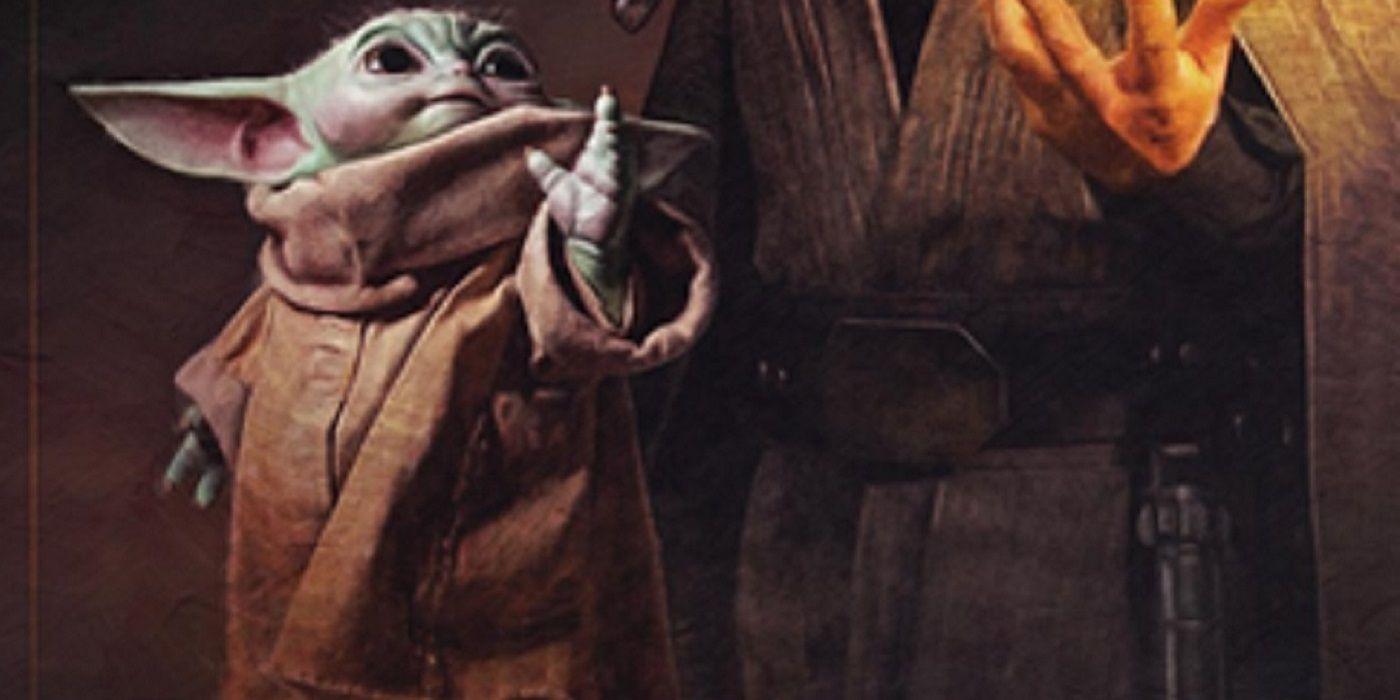 The Mandalorian Poster May Spoil Luke and Grogu's Jedi Training