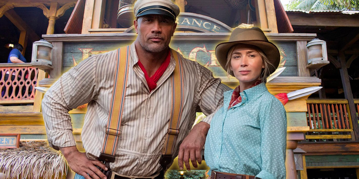 Jungle Cruise: Emily Blunt Didn't Ride the Theme Park Attraction Until the Film Premiere