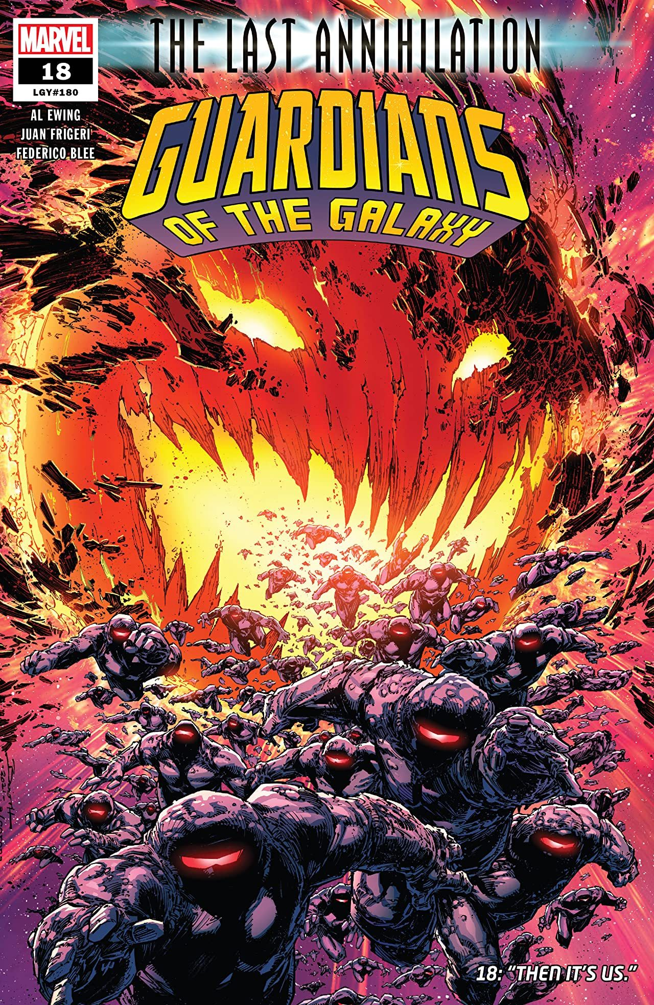 Marvel's Guardians of the Galaxy #18 Comic Review | CBR