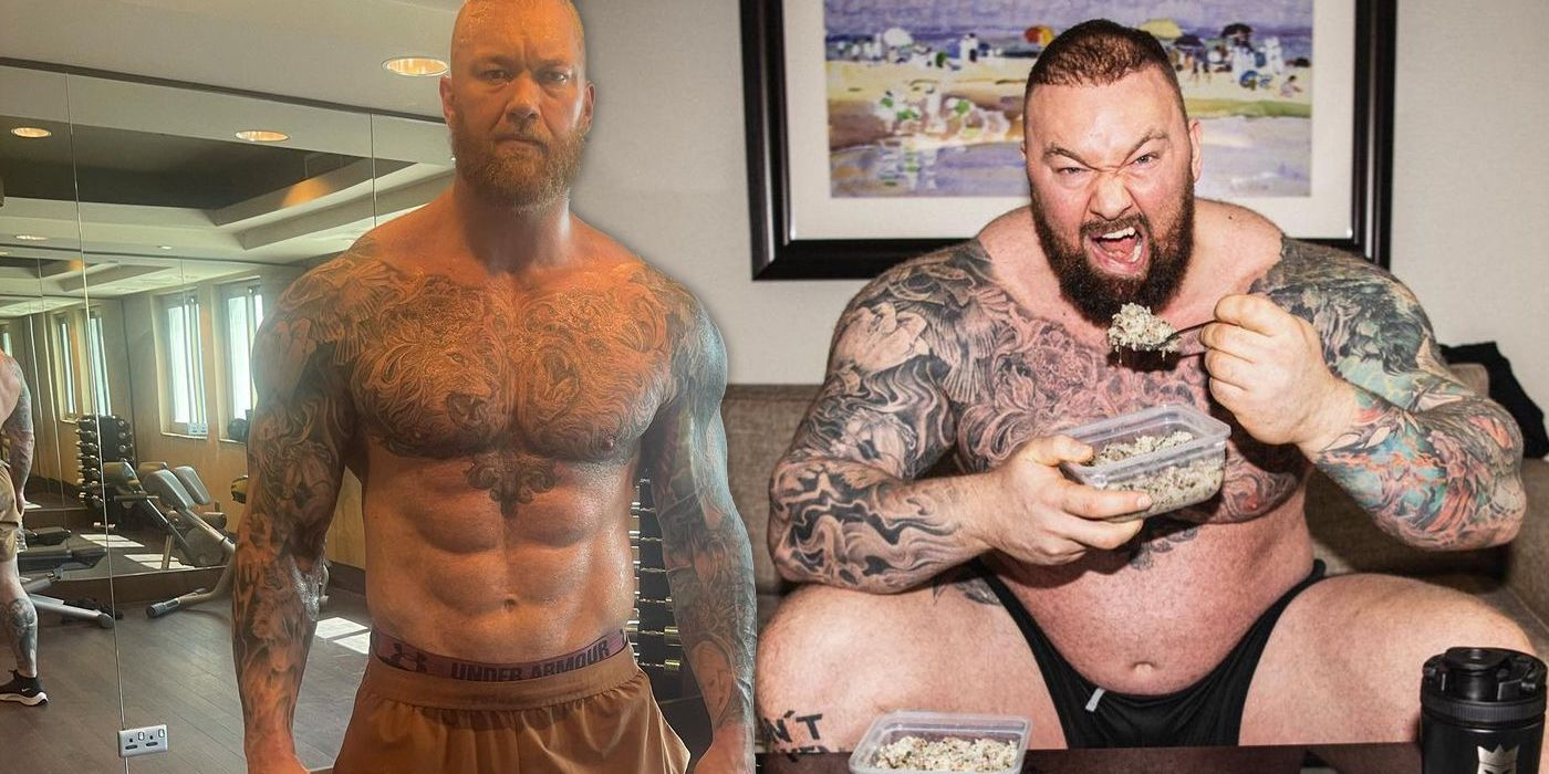 Game of Thrones' Mountain Shows Off Incredible Transformation
