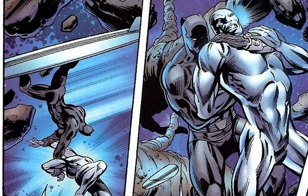 The Wrong Side Black Panther Vs Silver Surfer Cbr