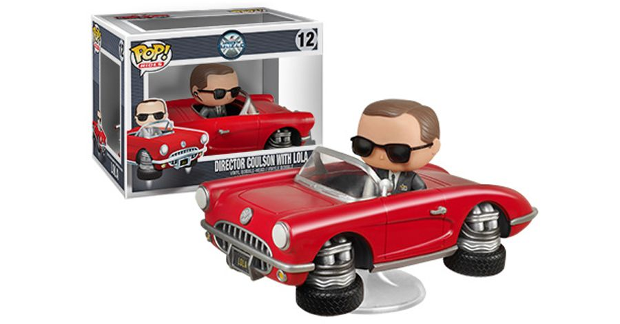 Funko takes Lola for a spin with 'Agents of SHIELD' Pop! Ride