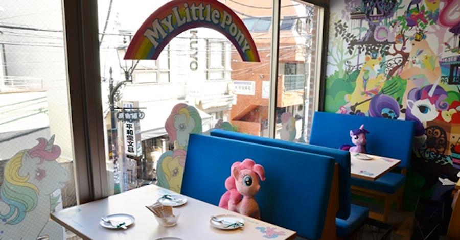 'My Little Pony' Themed Café Opens in Japan