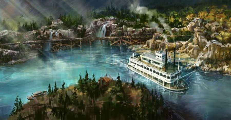 Disneyland begins to drain Rivers of America to make way for 'Star Wars'