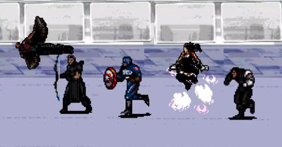 'Captain America: Civil War' 8-bit trailer will make you dust off your NES