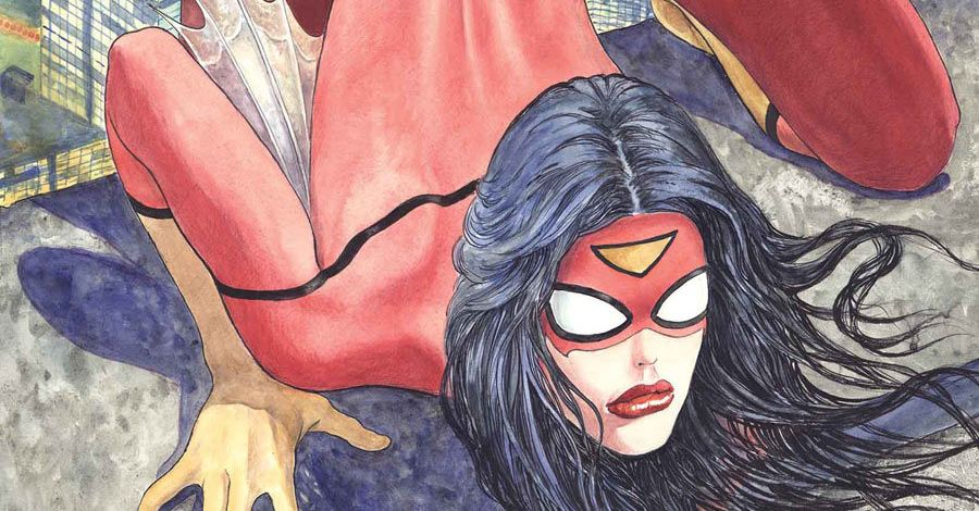 Scandal! spider woman variant cover